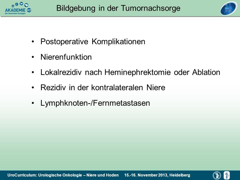 Bildgebung in der Tumornachsorge