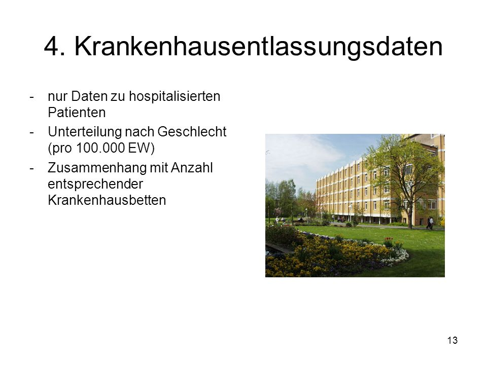 4. Krankenhausentlassungsdaten