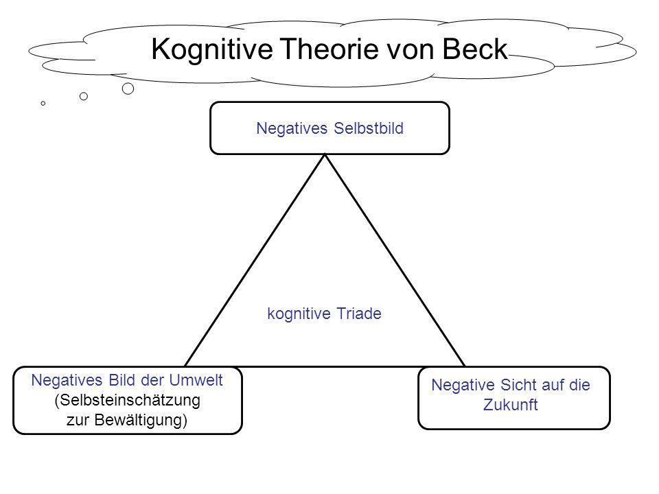 Kognitive Theorie von Beck