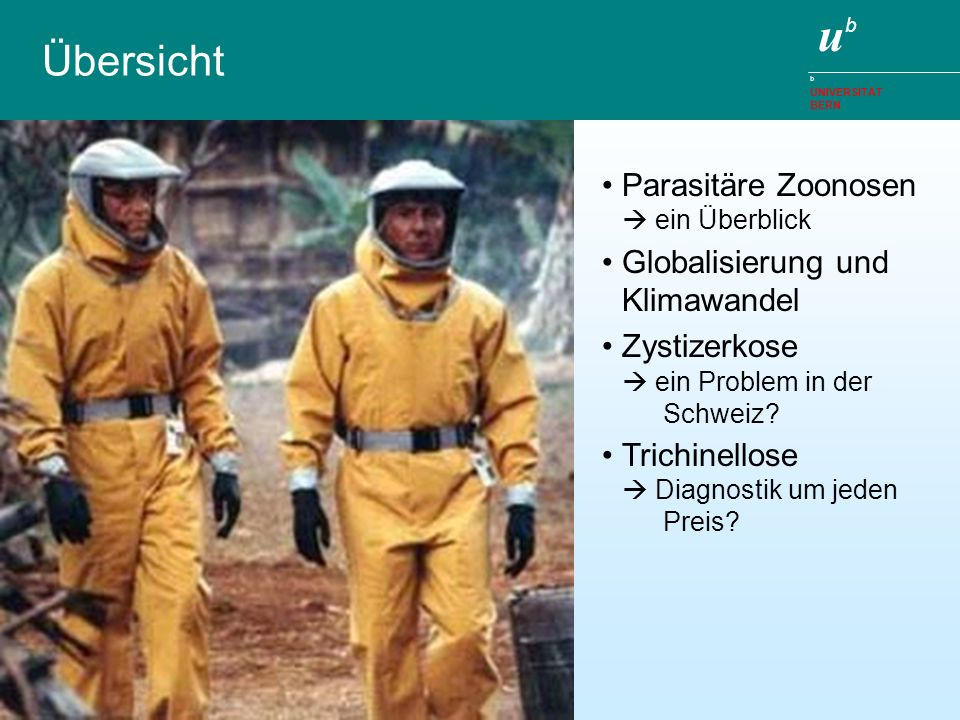 Übersicht Parasitäre Zoonosen  ein Überblick