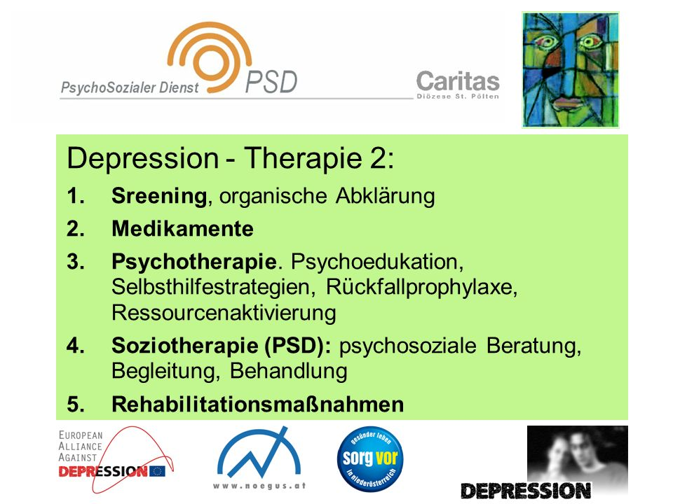 Depression - Therapie 2: