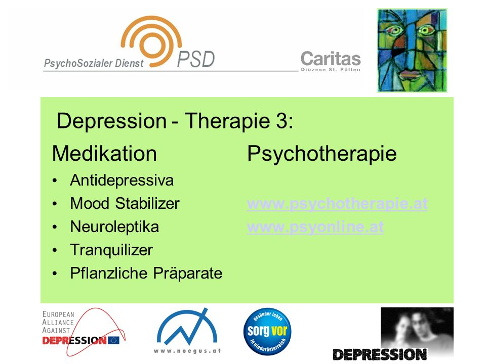 Depression - Therapie 3:
