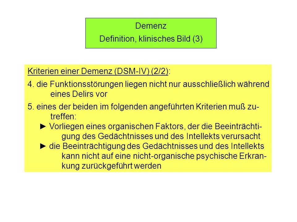 Definition, klinisches Bild (3)