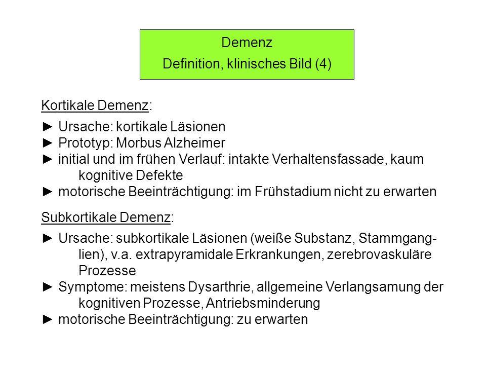 Definition, klinisches Bild (4)