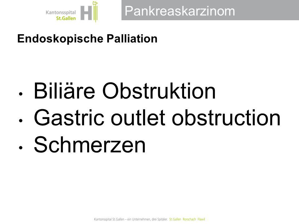 Endoskopische Palliation