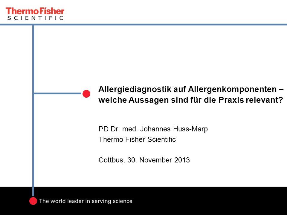 Allergiediagnostik auf Allergenkomponenten – welche Aussagen sind für die Praxis relevant