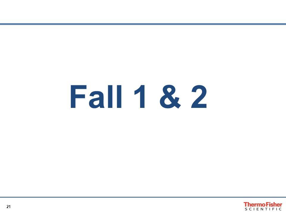 Fall 1 & 2