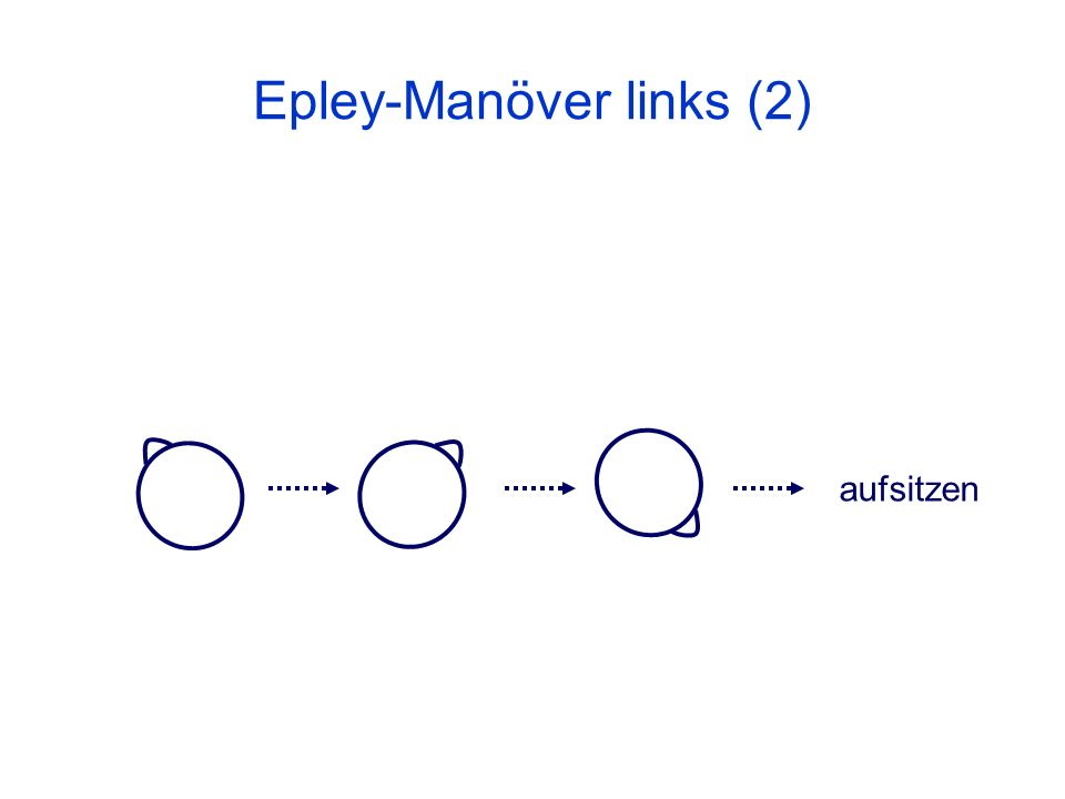 Epley-Manöver links (2)