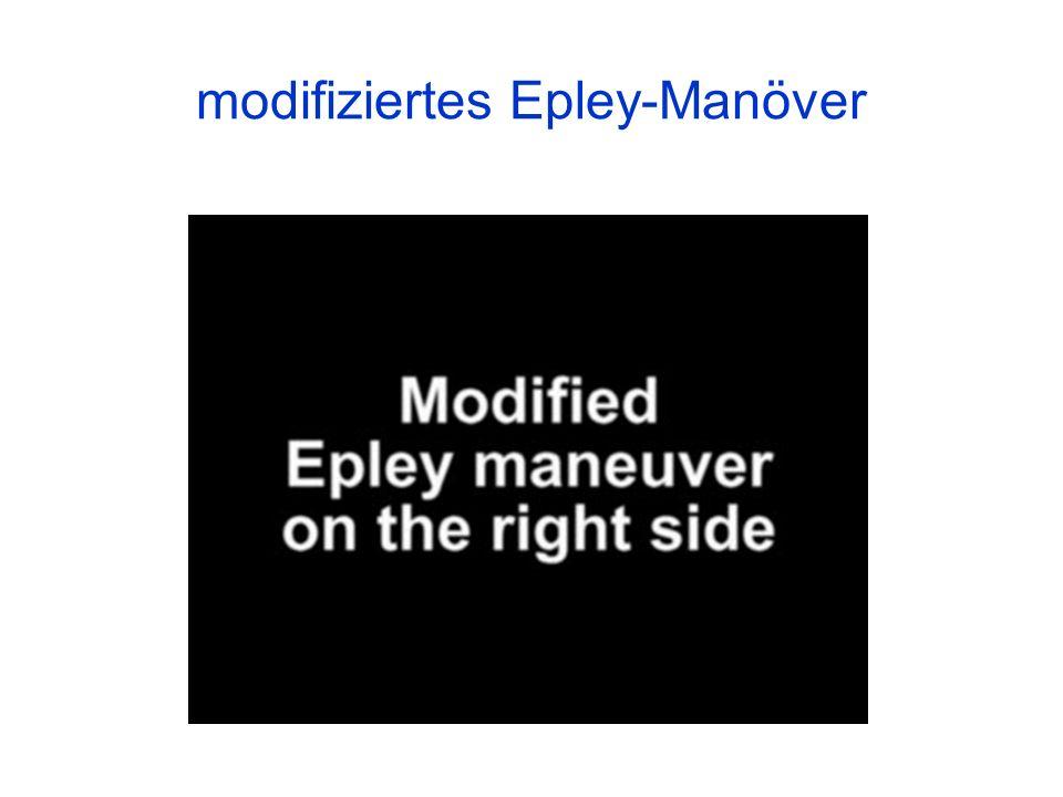 modifiziertes Epley-Manöver