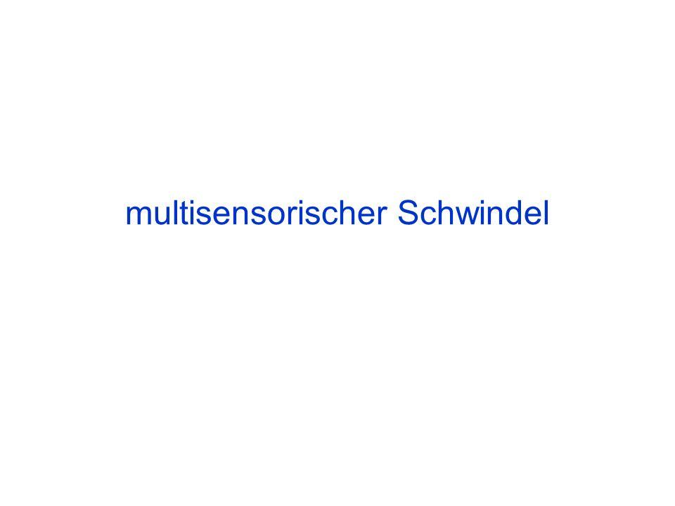 multisensorischer Schwindel