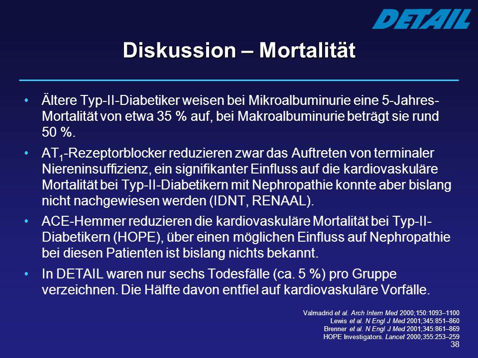 Diskussion – Mortalität