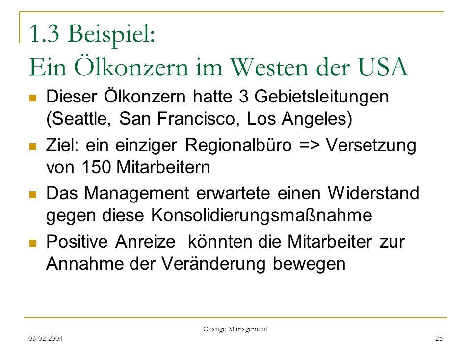 1.3 Beispiel: Ein Ölkonzern im Westen der USA