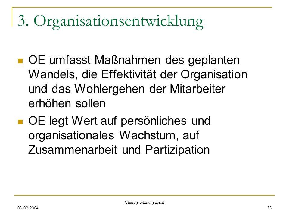 3. Organisationsentwicklung