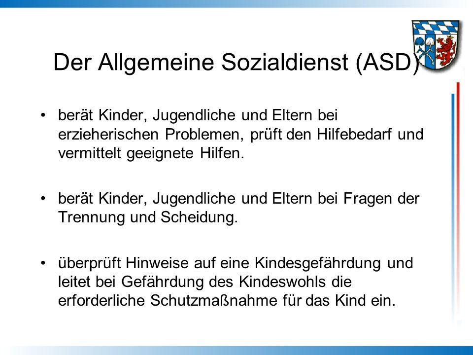 Der Allgemeine Sozialdienst (ASD)