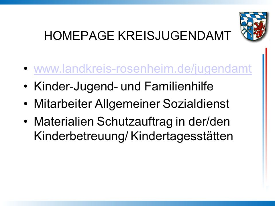 HOMEPAGE KREISJUGENDAMT