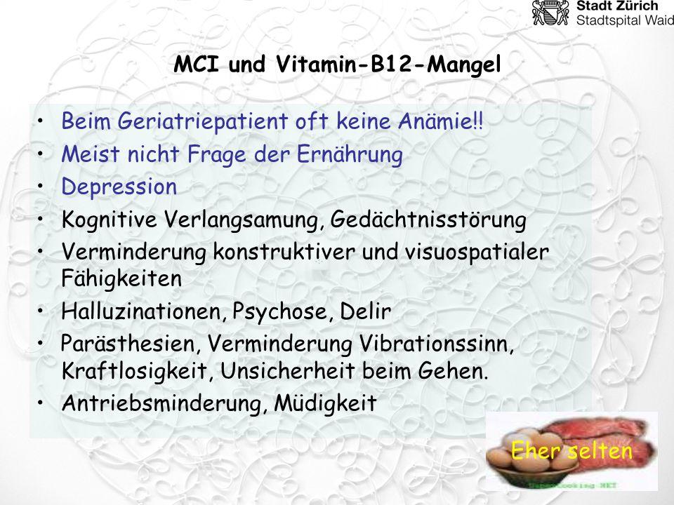 MCI und Vitamin-B12-Mangel