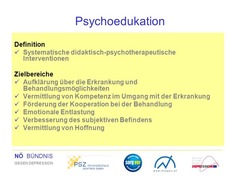 Psychoedukation Definition