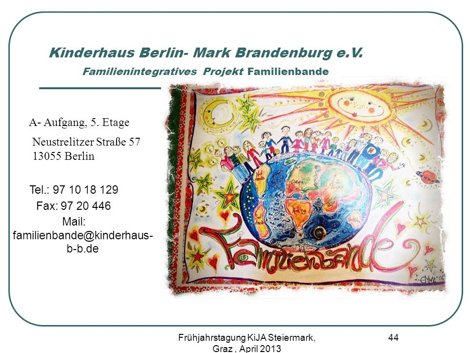 Kinderhaus Berlin- Mark Brandenburg e. V