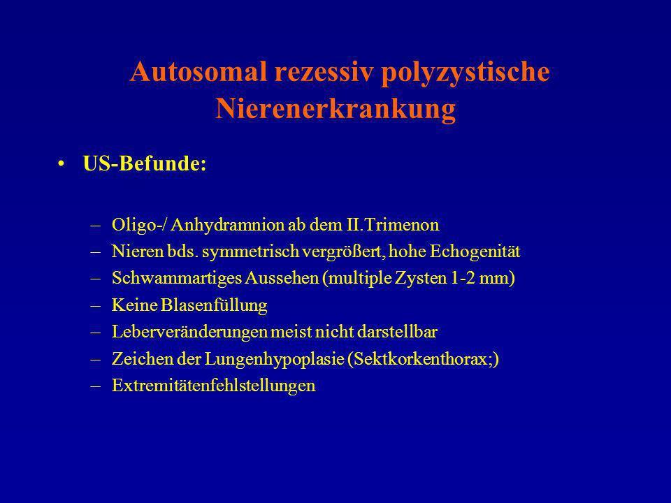 Autosomal rezessiv polyzystische Nierenerkrankung