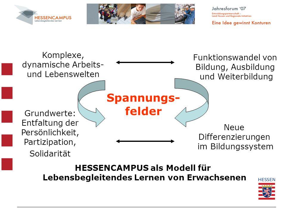 HESSENCAMPUS als Modell für Lebensbegleitendes Lernen von Erwachsenen