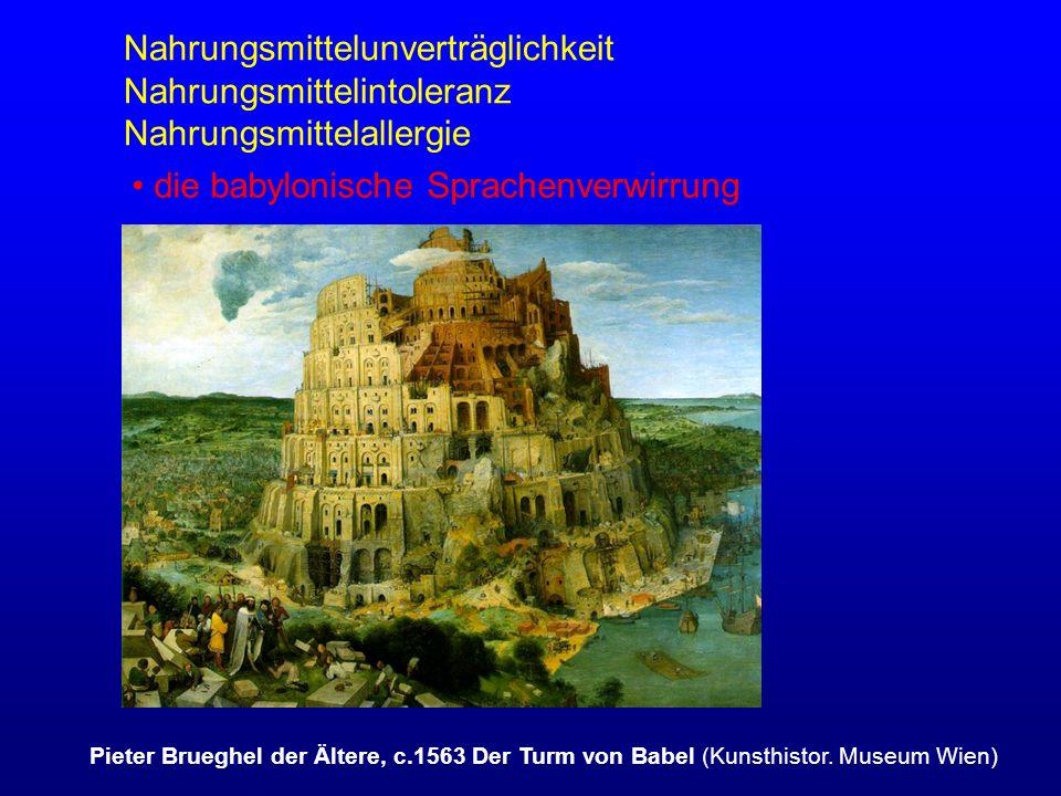 die babylonische Sprachenverwirrung