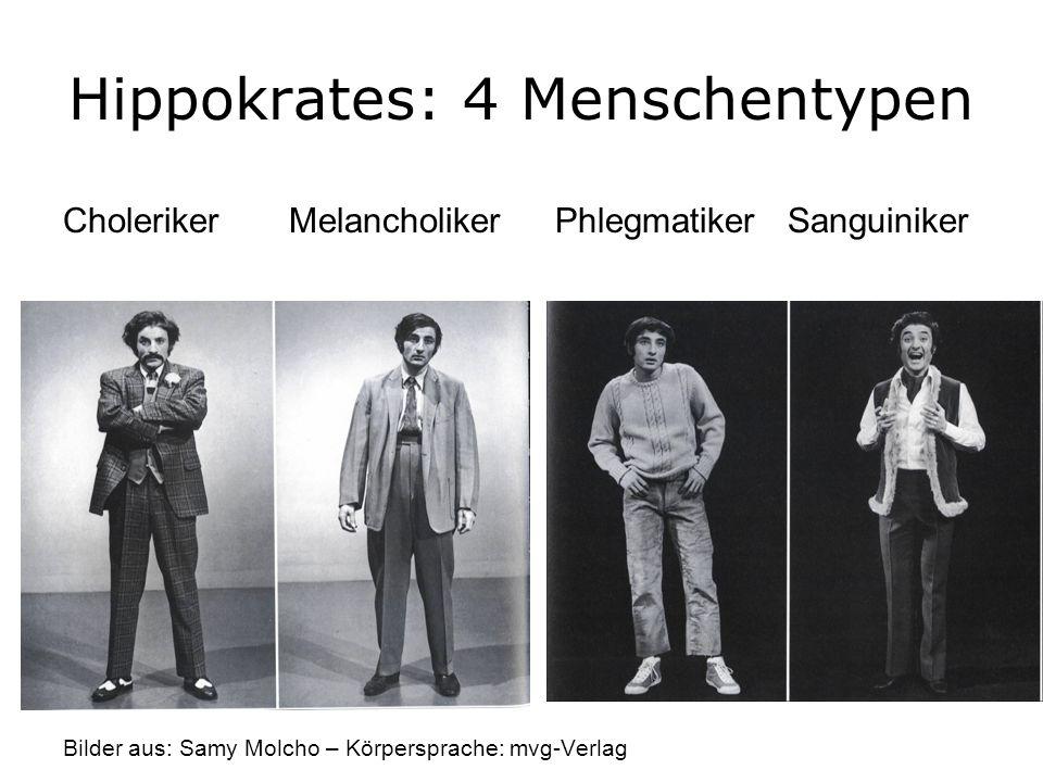 Hippokrates: 4 Menschentypen