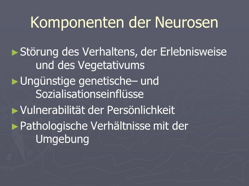 Komponenten der Neurosen