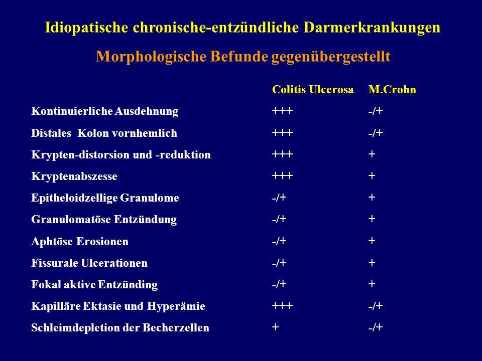Idiopatische chronische-entzündliche Darmerkrankungen