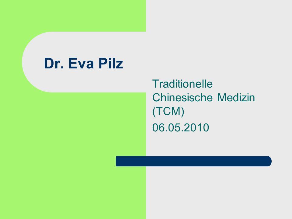 Traditionelle Chinesische Medizin (TCM) 06.05.2010