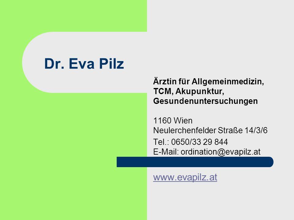 Dr. Eva Pilz www.evapilz.at
