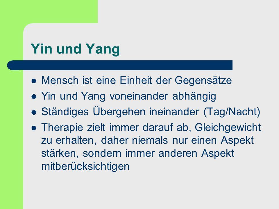 Yin und Yang Mensch ist eine Einheit der Gegensätze
