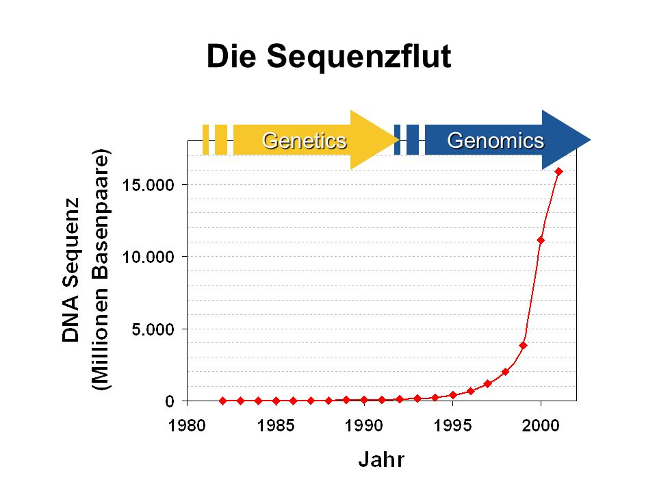Die Sequenzflut Genetics Genomics