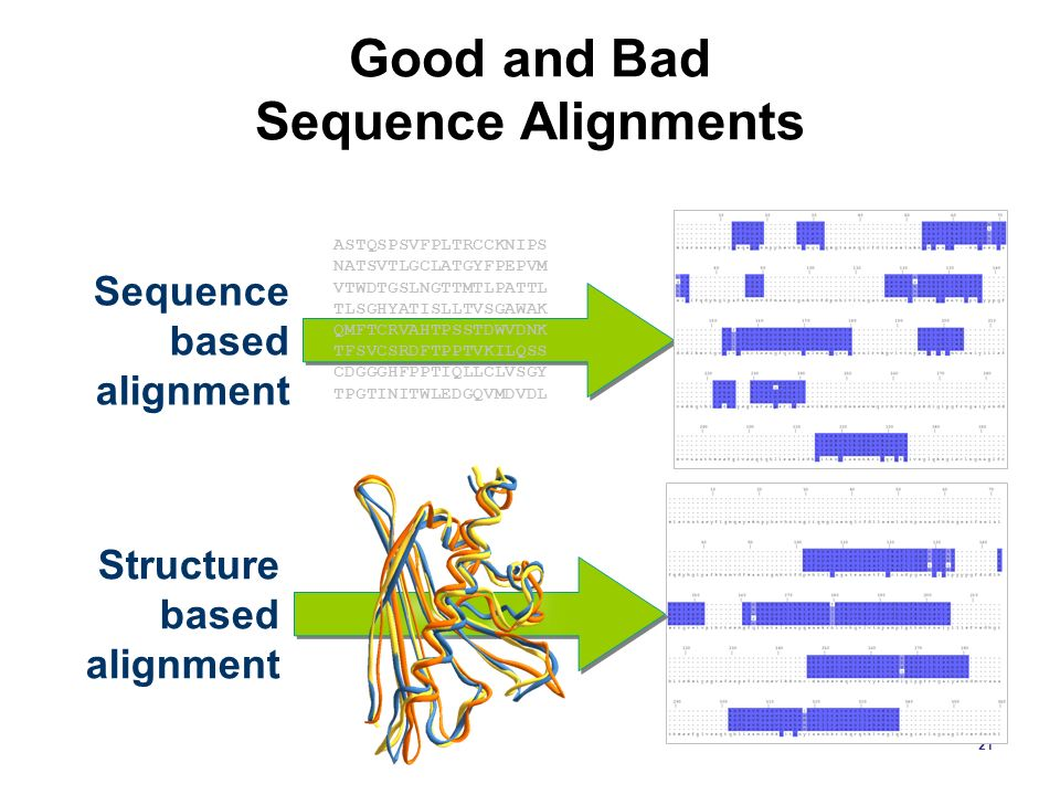Good and Bad Sequence Alignments