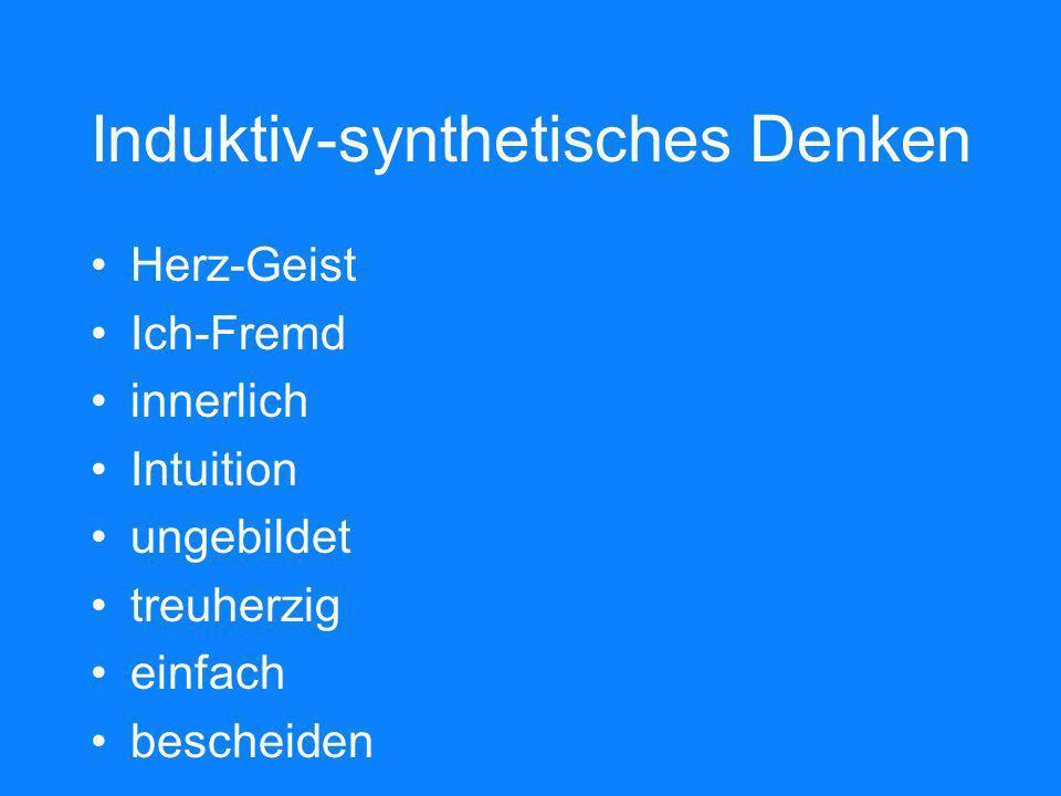 Induktiv-synthetisches Denken
