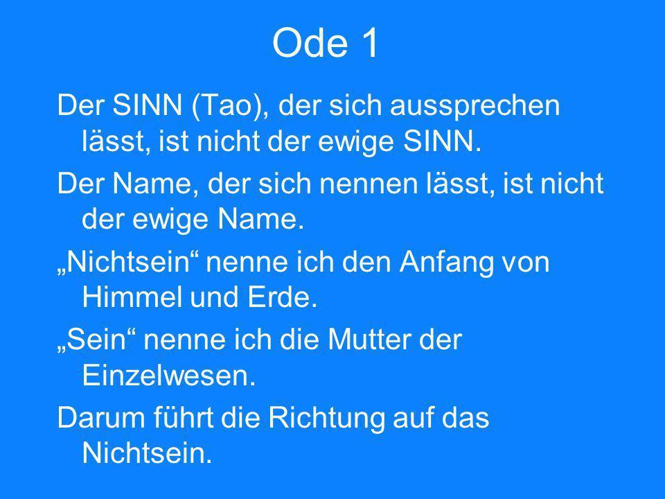 Ode 1