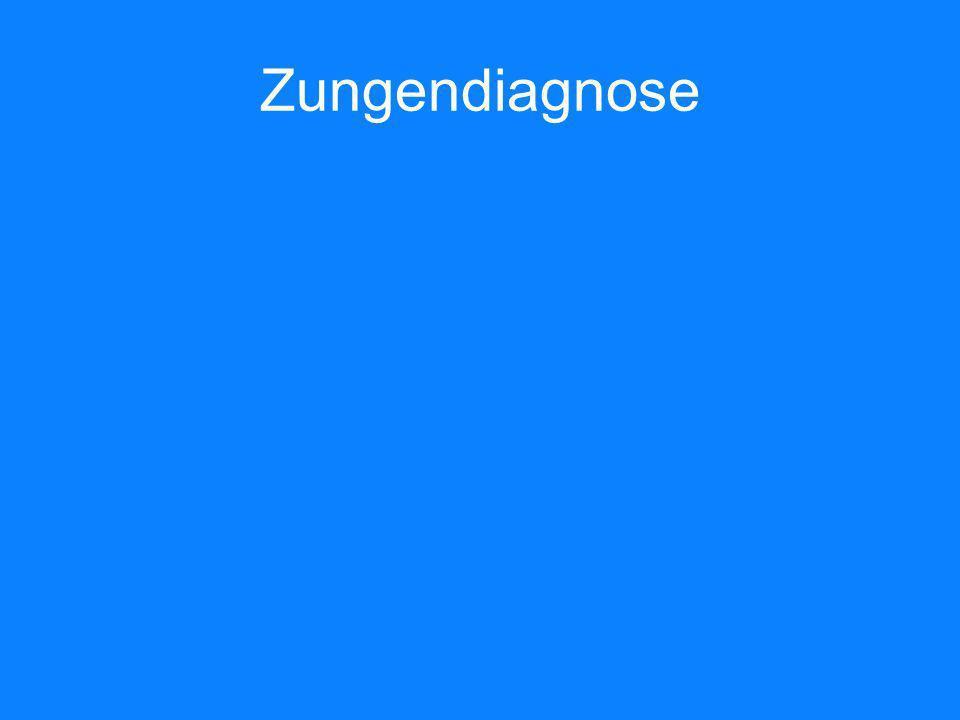 Zungendiagnose