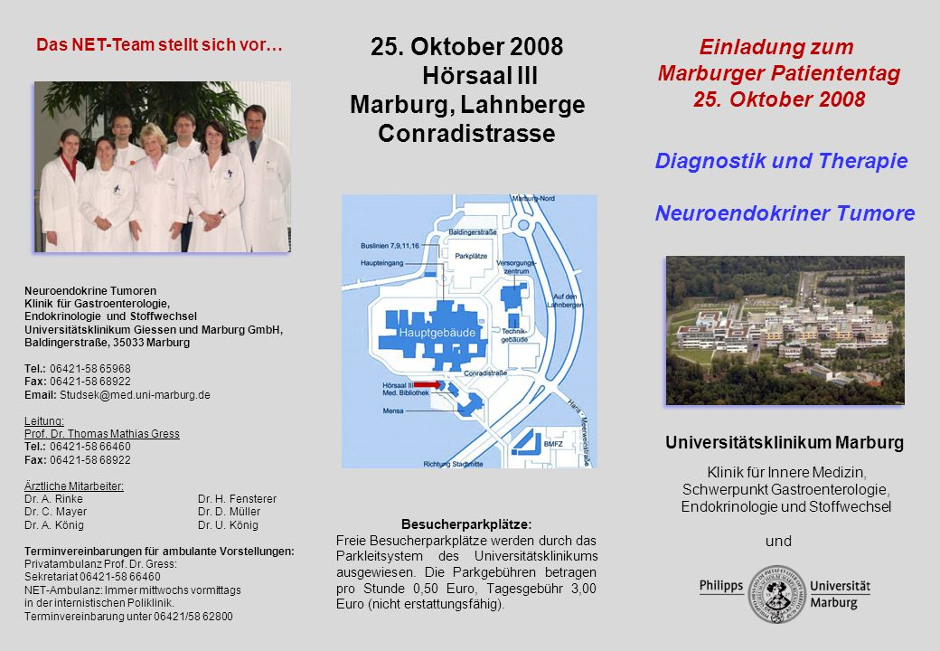 Marburger Patiententag Universitätsklinikum Marburg