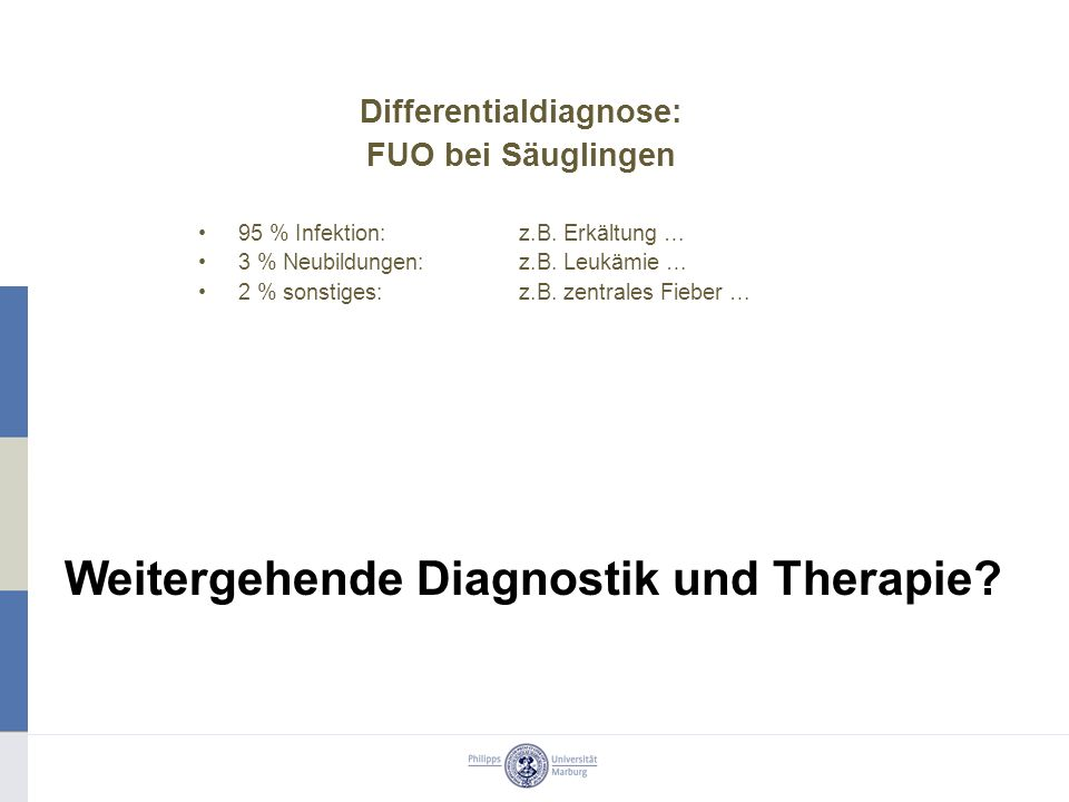 Differentialdiagnose: