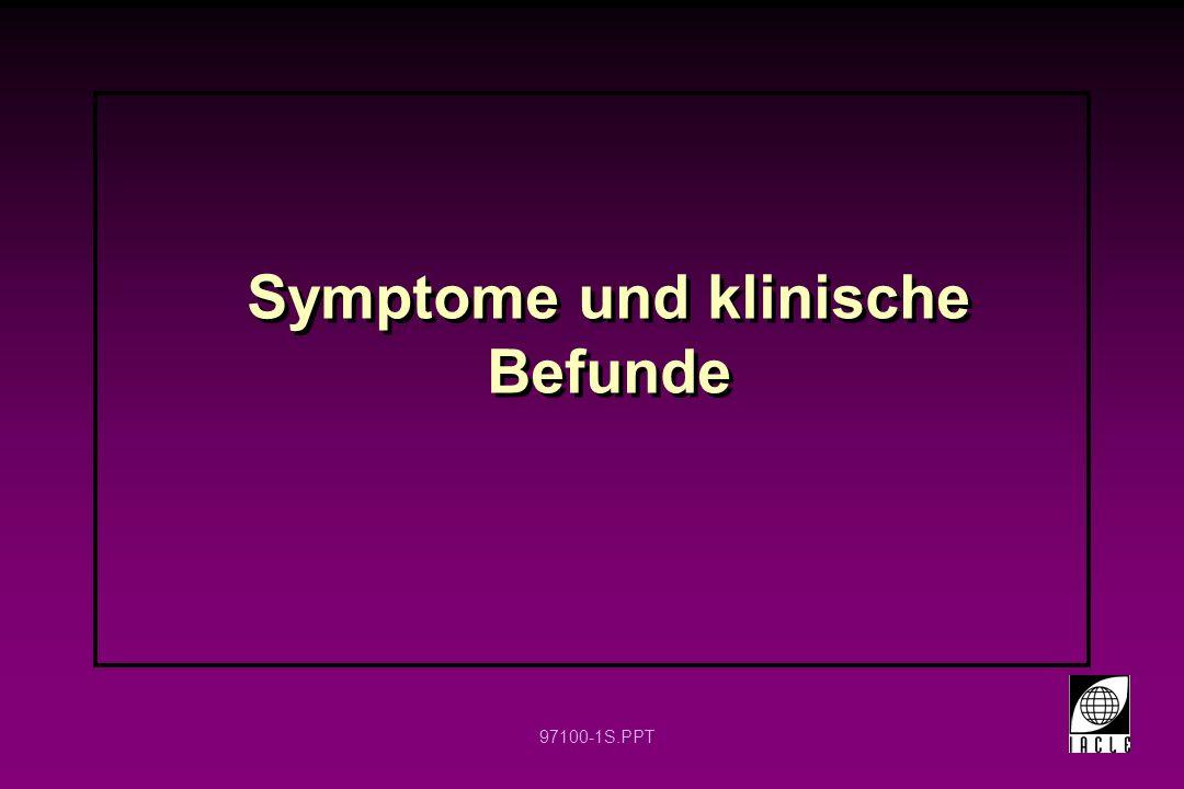 Symptome und klinische Befunde