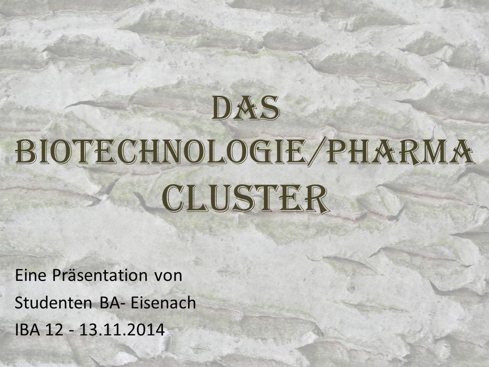 Das Biotechnologie/pharma Cluster