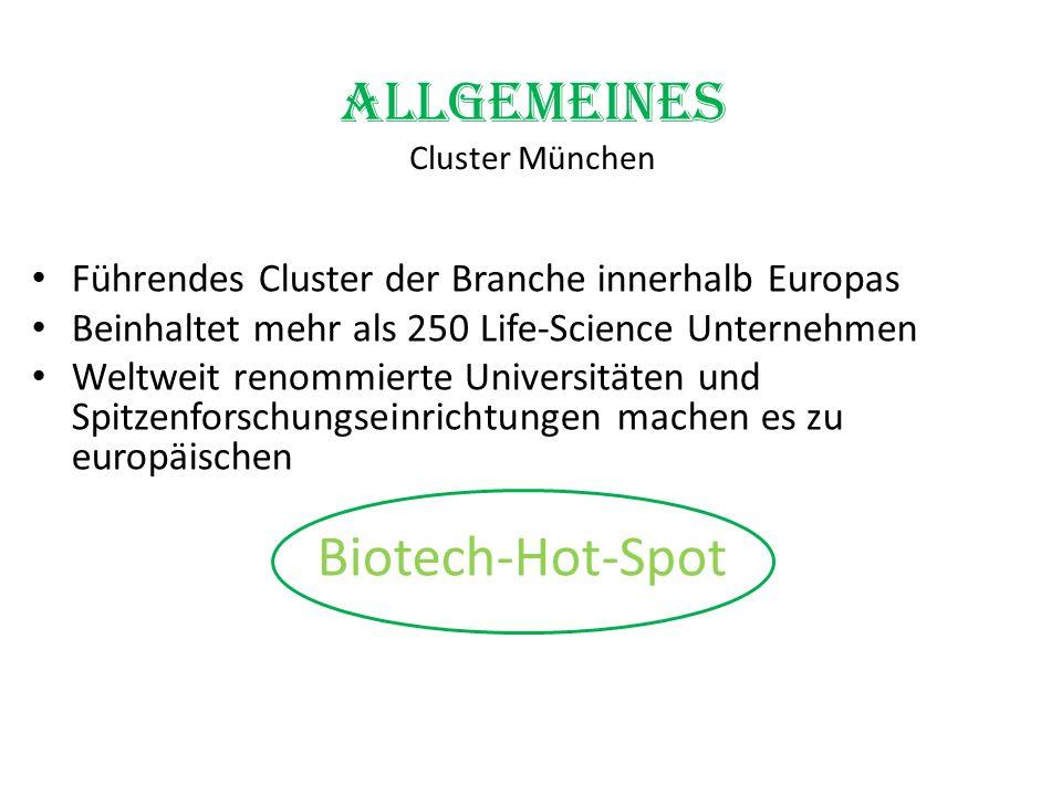 Allgemeines Cluster München