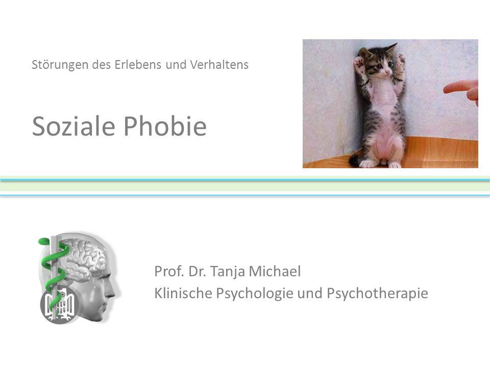 Prof. Dr. Tanja Michael Klinische Psychologie und Psychotherapie