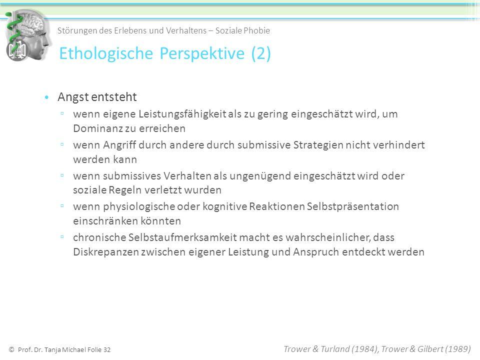 Ethologische Perspektive (2)
