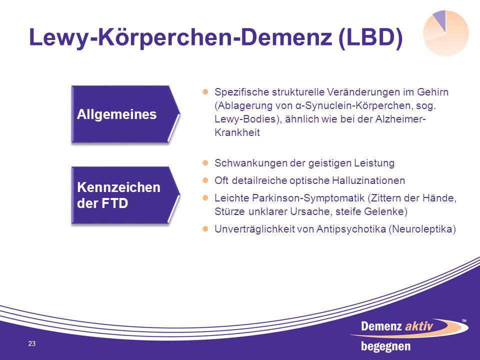 Lewy-Körperchen-Demenz (LBD)