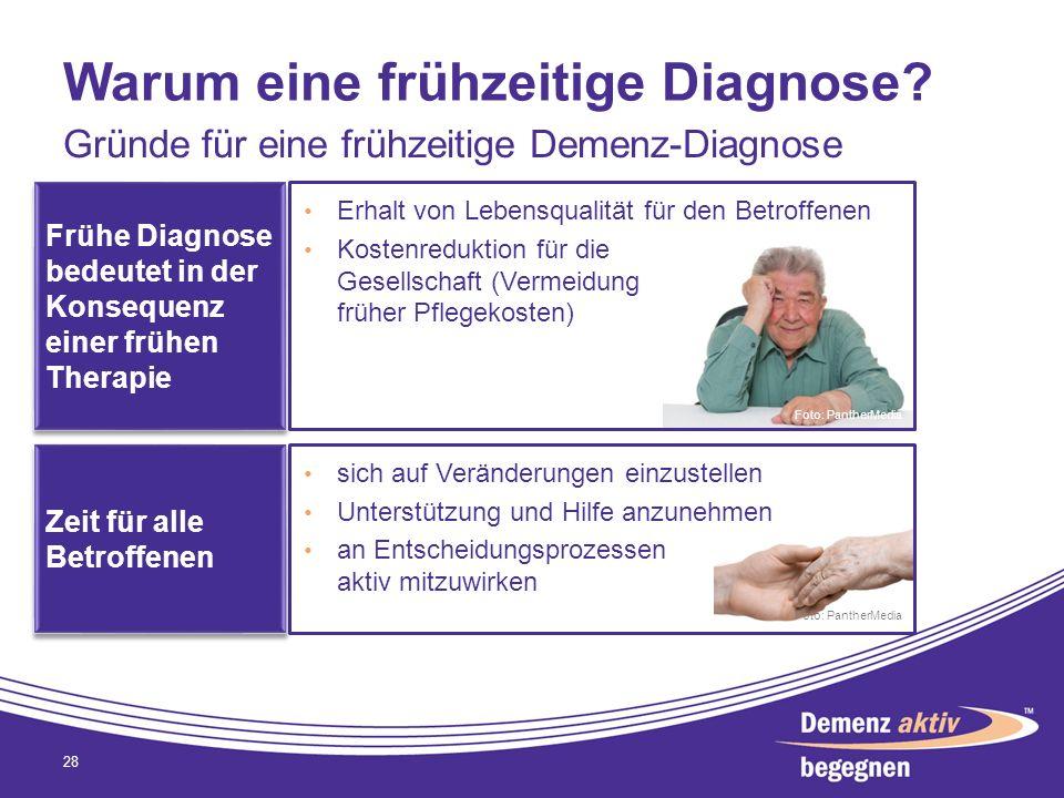 Warum eine frühzeitige Diagnose