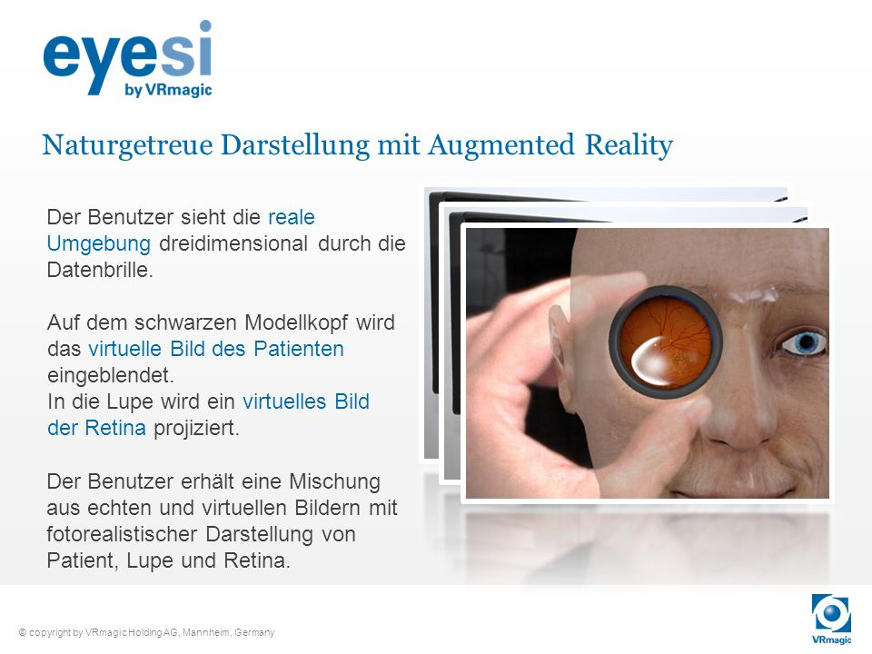 Naturgetreue Darstellung mit Augmented Reality