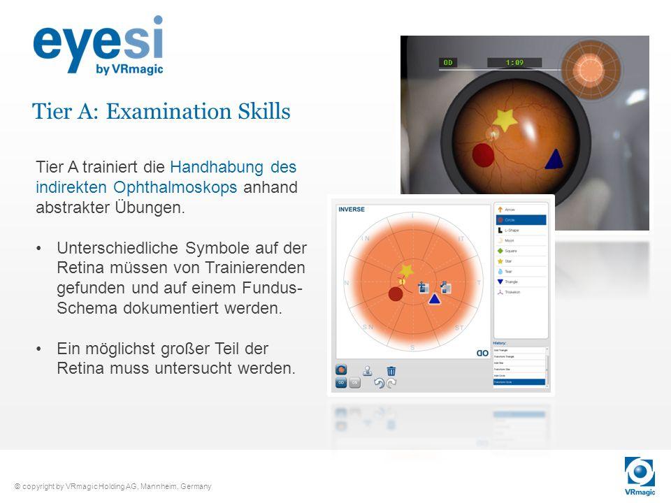 Tier A: Examination Skills