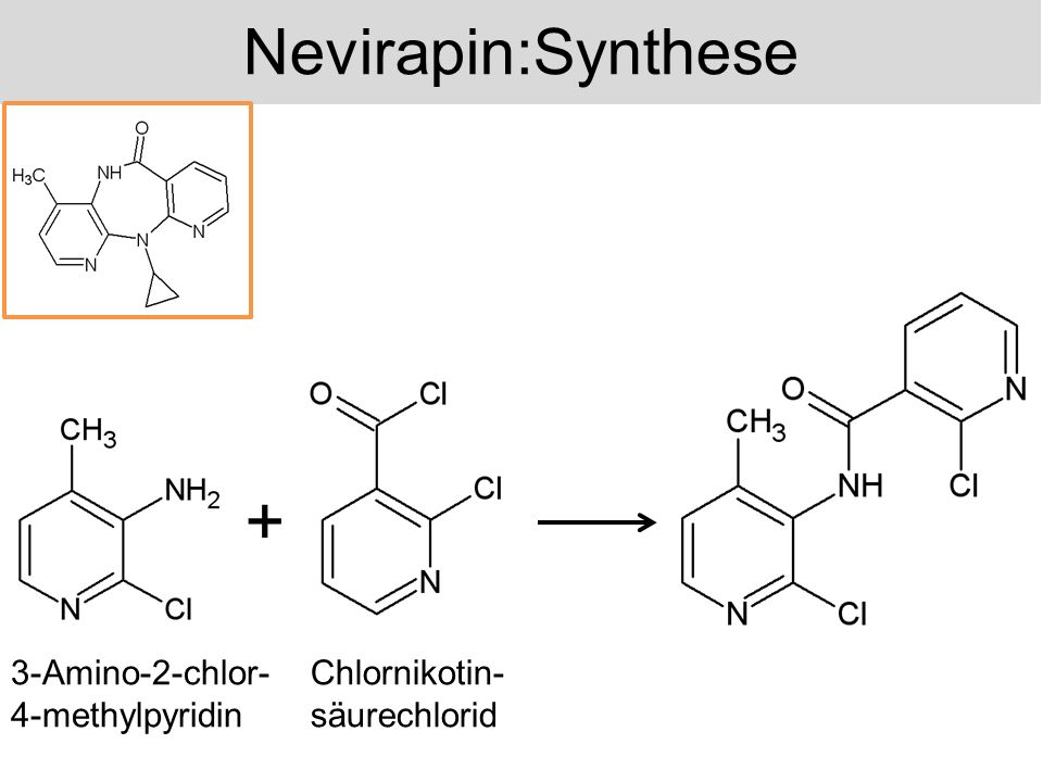 + Nevirapin:Synthese 3-Amino-2-chlor-4-methylpyridin