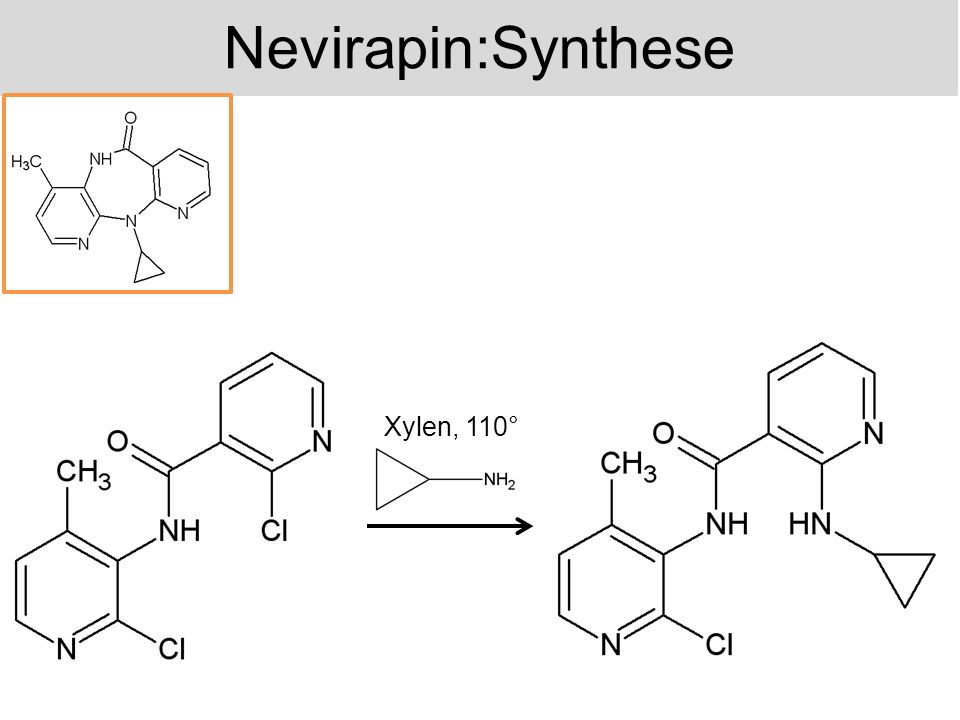 Nevirapin:Synthese Xylen, 110°