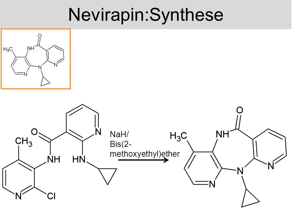 Nevirapin:Synthese NaH/ Bis(2-methoxyethyl)ether